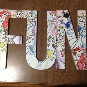 Lettering Disney princess